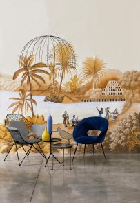 Misha Wallpaper The Incense Route - Hoyer & Kast Interiors