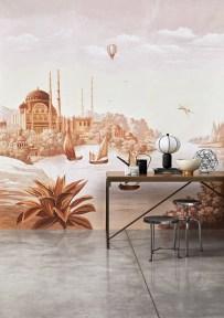 Misha Wallpaper The Silk Road - Hoyer & Kast Interiors