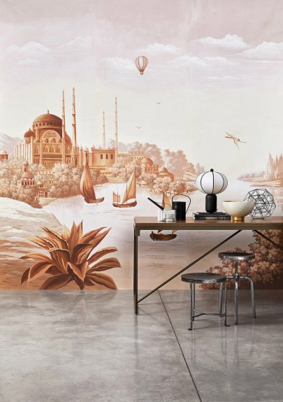 Misha Wallpaper The Silk Road - Hoyer & Kast Interiors