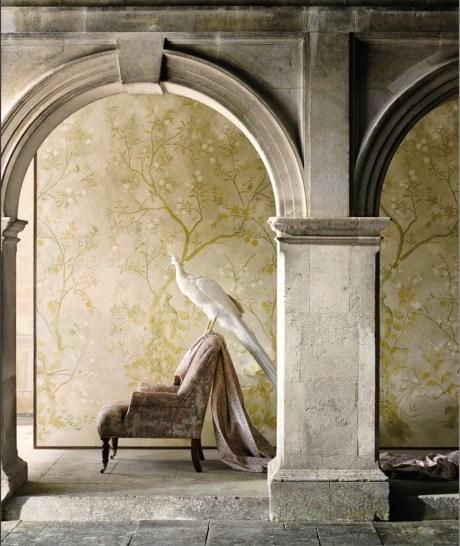 Zoffany Chinoiserie Wandbekleidung - Hoyer & Kast Interiors