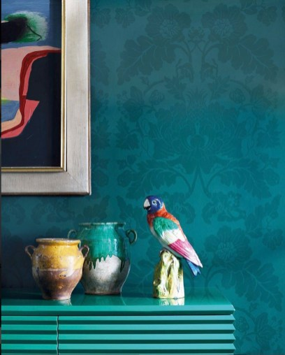 Zoffany Damasttapeten - Hoyer & Kast Interiors