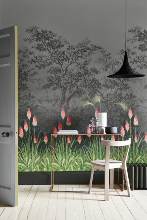Little Greene Wandpanorama - Hoyer & Kast Interiors München