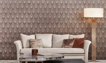 Arte Arcum Wallpaper - Hoyer & Kast Interiors