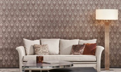 Arte Arcum Wallpaper - Hoyer & Kast Interiors