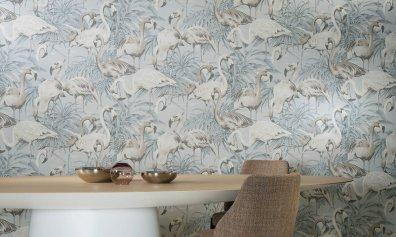 Arte Tapeten München Flamingo - Hoyer & Kast Interiors