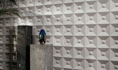 Arte Walls Geometrische Tapete Pyramid - Hoyer & Kast Interiors