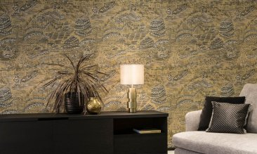 Arte Walls Scenery - Hoyer & Kast Interiors