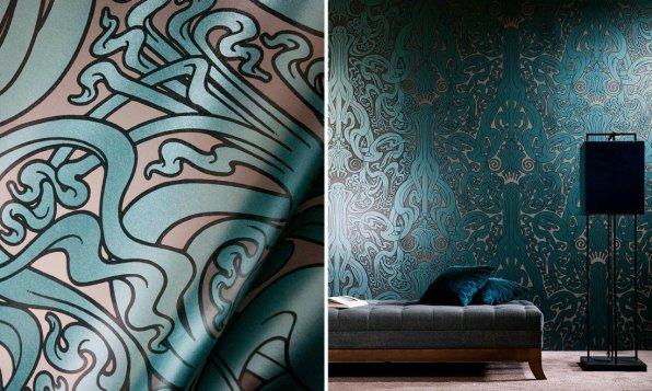 Flavor Paper for Arte Flower of Love - Hoyer & Kast Interiors