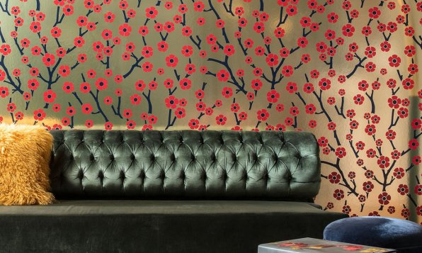 Flavor Paper for Arte Sakura Metalltapete - Hoyer & Kast Interiors