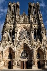 Reims Kathedrale Aussenansicht