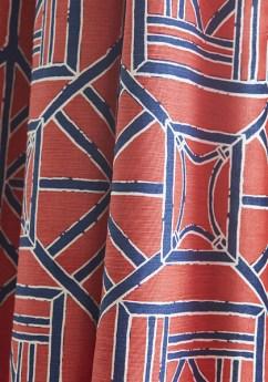 Thibaut Dynasty Shoji Panel Chinoiserie - Hoyer & Kast Interiors