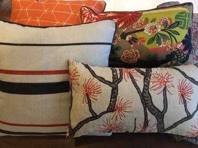 Hoyer & Kast Interiors handgefertigte Kissen