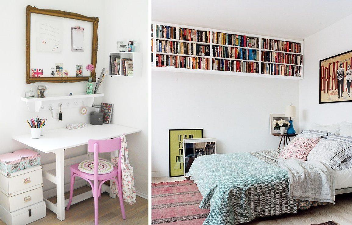 decoracion dormitorios libreria | Hoy LowCost on Room Decor Manualidades Para Decorar Tu Cuarto id=30541