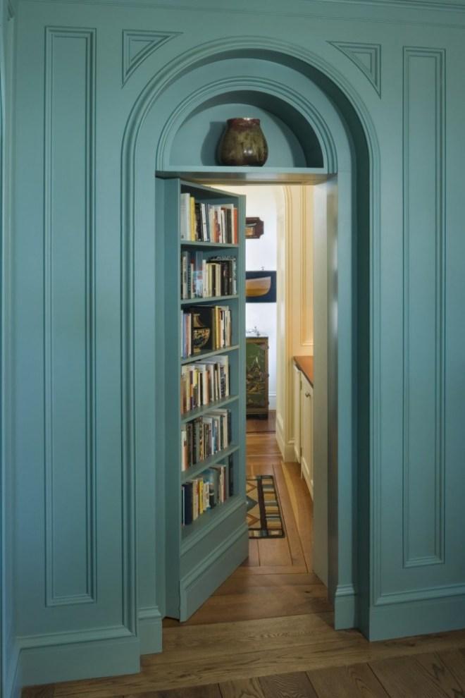 idea puerta oculta con libreria