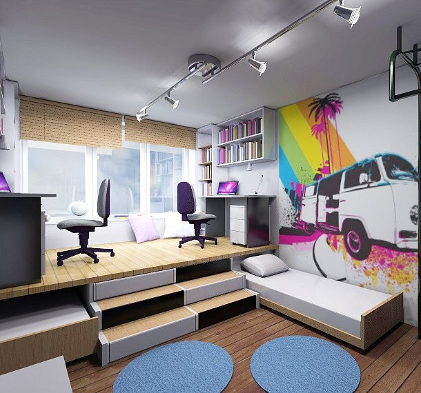 Iluminacion Dormitorios Juveniles Hoy LowCost