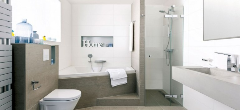 Diseño de duchas para baños pequeños