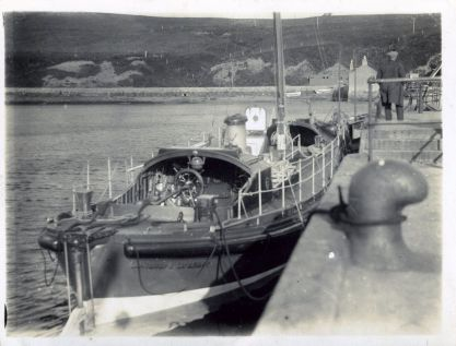 Longhope lifeboat at Scapa