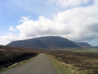 Road to Hoy Hills (north end)