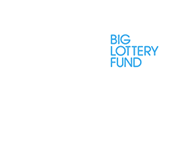 Big Lottery Fund logo white-blue trans