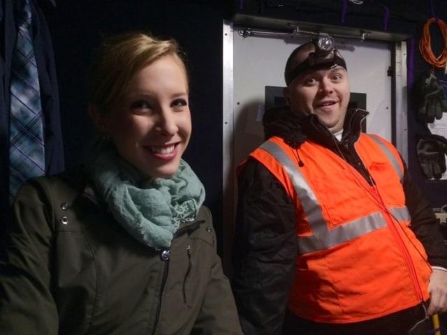WDBJ reporter Alison Parker and cameraman Adam Ward.