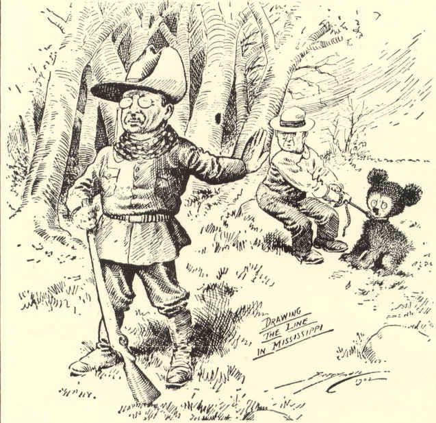 Theodore y el oso
