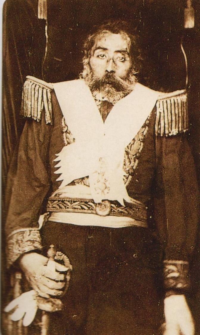 Cuerpo del emperador enviado a Austria