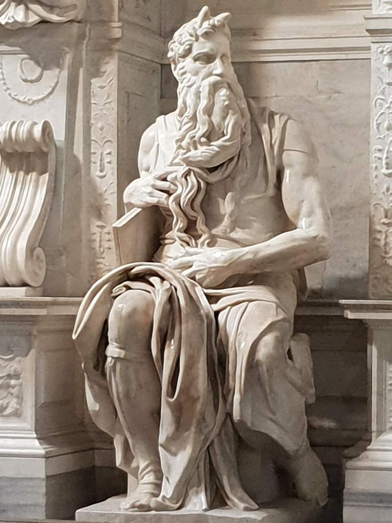 Miguel Ángel y el Moisés