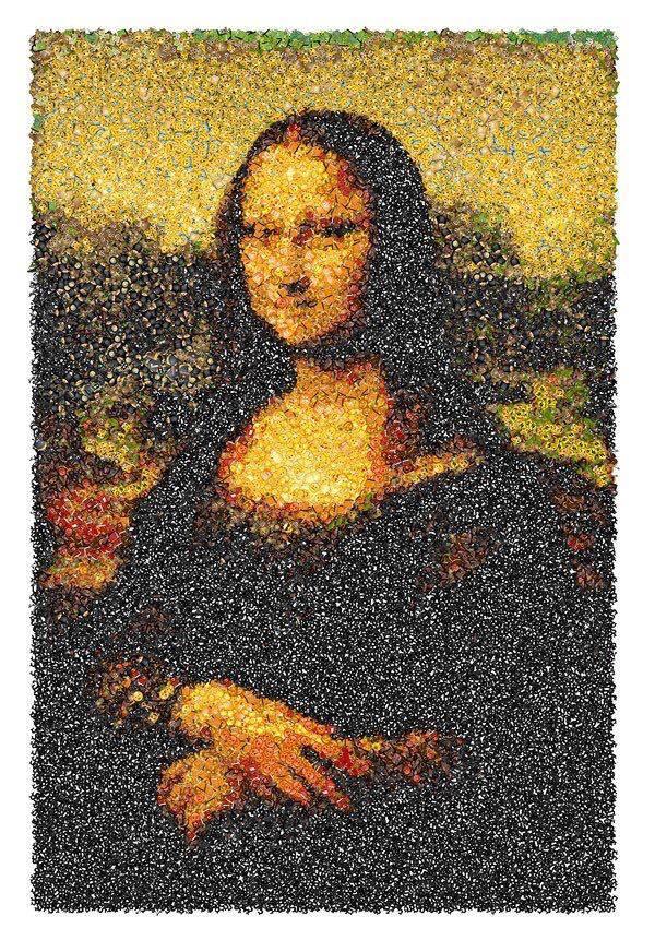 La Mona Lisa con emojis
