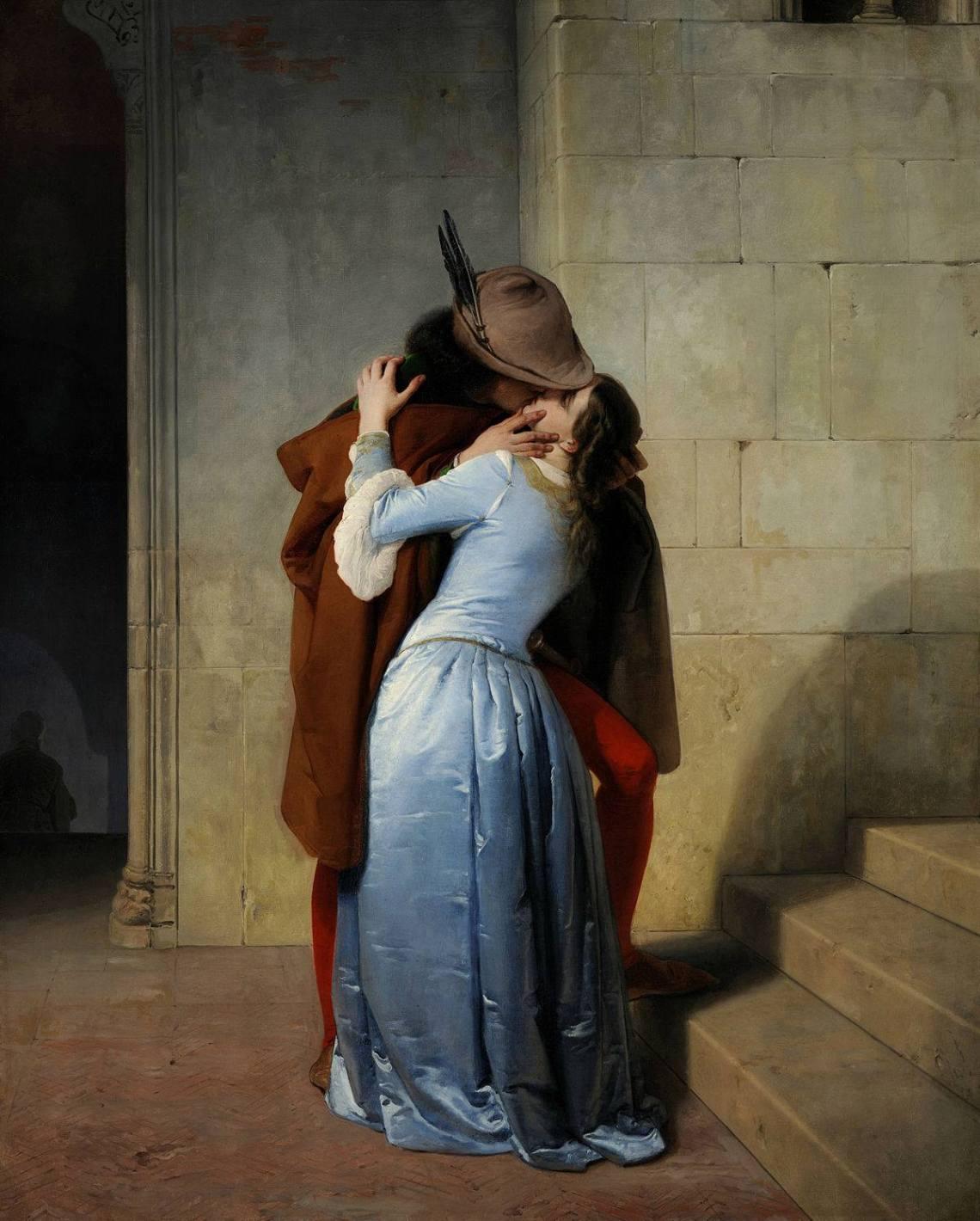 """""""El beso"""" de Hayez"""
