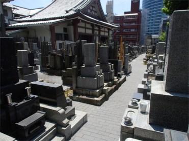 龍閑寺 墓地