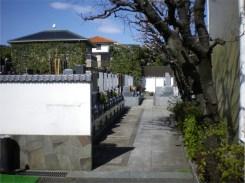 妙見寺【墓地入口】