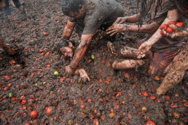 Tomatina Colombia