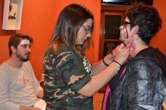 zombie maquillaje 1