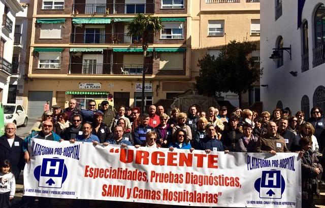 La Plataforma Pro Hospital Comarcal pide a los ayuntamientos de La Hoya que apoyen la construcción de un centro sanitario