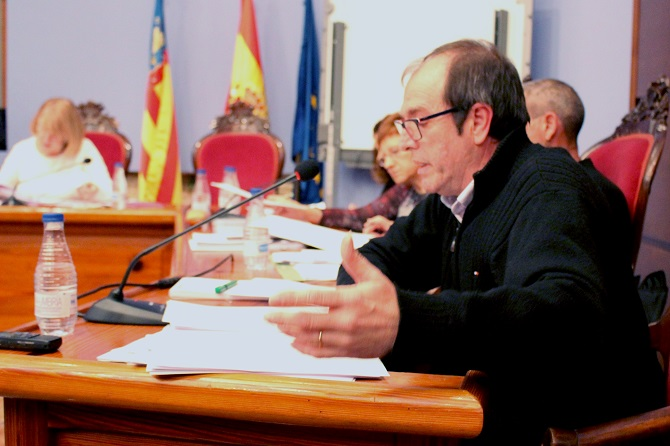 Jose Vicente Guijarro. Concejal de Personal
