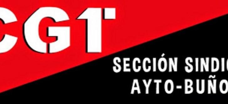 CGT impugna la Mesa General de Negociación del Ayuntamiento de Buñol