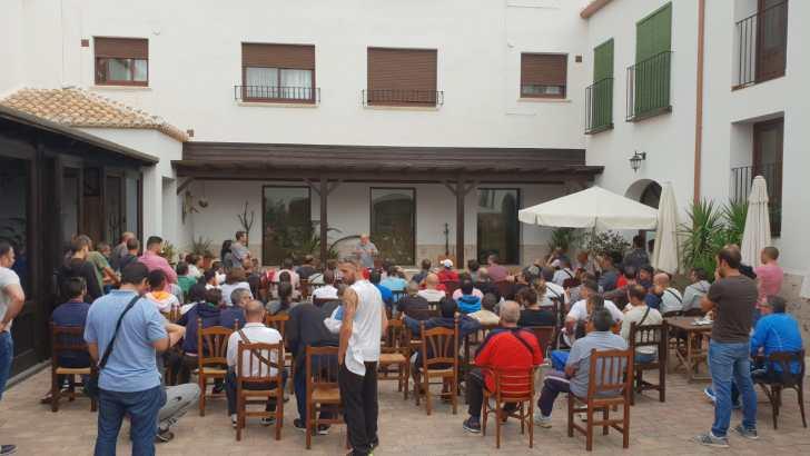 CCOO de Buñol avanza en las negociaciones para acabar con los falsos autónomos en Elaborados Cárnicos Medina