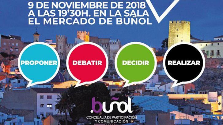 Esta tarde se presenta el portal de participación ciudadana de Buñol