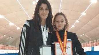 La buñolense Daniela Furriol logra el bronce en el Campeonato de España de Taekwondo