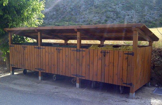 La Mancomunidad recibe una subvención de 39.169€ de Diputación para la instalación de cubrecontenedores en  la comarca