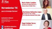 El PSOE de Alborache acoge una charla sobre el uso de las TIC y las redes sociales
