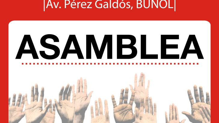 CCOO presenta a su grupo de participación joven este jueves en Buñol