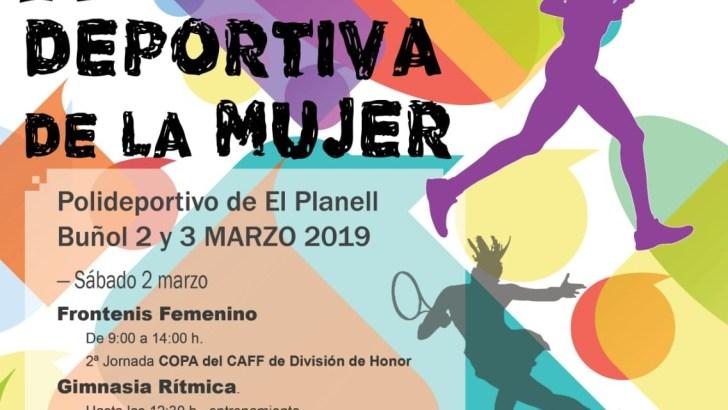 Buñol celebra este fin de semana la IV Jornada Deportiva de la Mujer