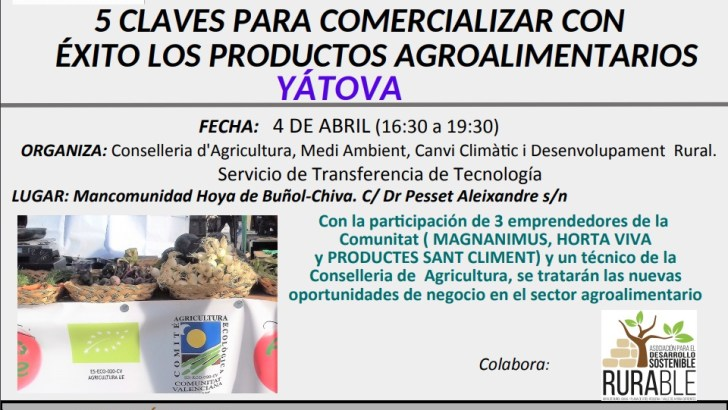 La Mancomunidad acoge una jornada sobre formación de empresas y comercialización de productos agroalimentarios