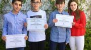 Cuatro alumnos del CEIP San Luis de Buñol reciben el premio al rendimiento académico
