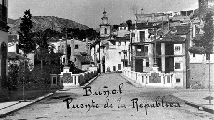 El Puente de la República y el barranco de los Mudos yBorrunes
