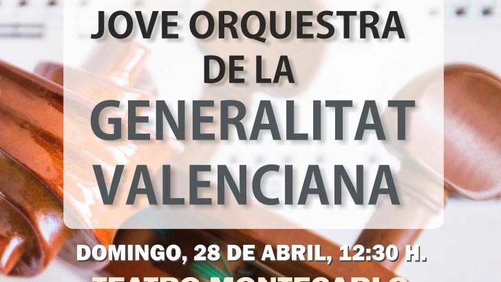 La JORVAL actuará en el Teatro Montecarlo de Buñol este domingo