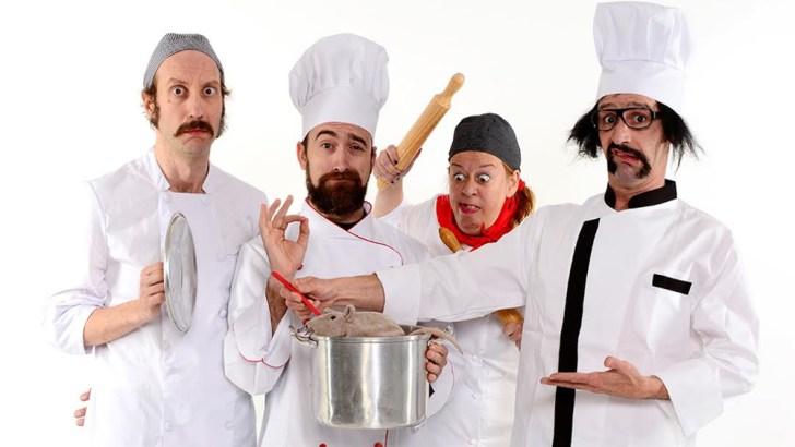A la venta las últimas entradas para ver «Chefs» de Yllana Teatro, en Buñol