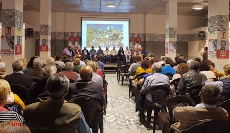 Las imágenes de la presentación de la candidatura del PSOE de Buñol para las elecciones municipales