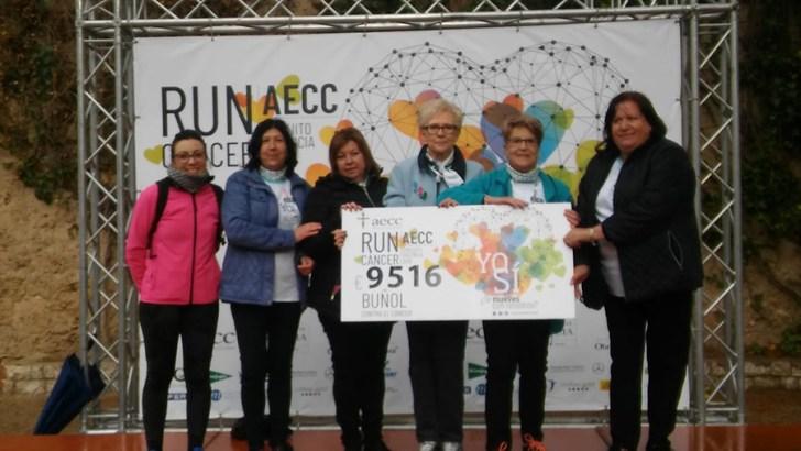 La Run Cáncer de Buñol logra recaudar 9.500€ en su tercera edición (imágenes)